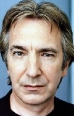 Full Alan Rickman filmography who acted in the TV series Hit Somebody.