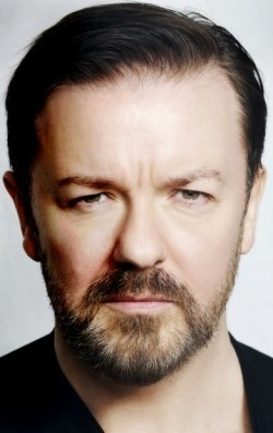 Full Ricky Gervais filmography who acted in the TV series An Idiot Abroad.