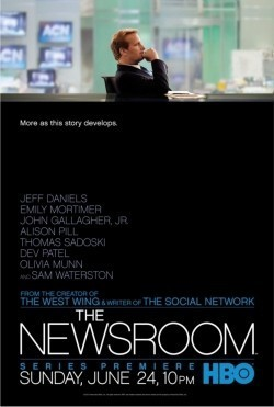 TV series The Newsroom poster