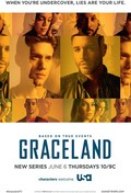 TV series Graceland poster